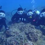 沖縄ダイビング 2/10 サンゴ体験ダイビング りょうけん・しおん