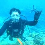 沖縄ダイビング☆2/20 珊瑚体験ダイビング えりな・とも