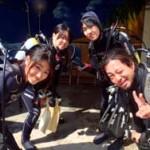 沖縄ダイビング☆2/25  珊瑚体験ダイビング とも