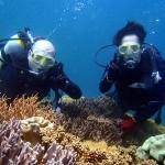 沖縄ダイビング☆4/2 青の洞窟体験ダイビング 8時ゆうり・しおん