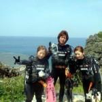 沖縄ダイビング☆4/17 青の洞窟ダイビング 13時~ えりな・ゆうり