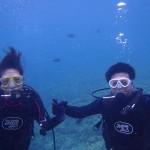 沖縄ダイビング☆4/28 青の洞窟体験ダイビング 8時~ シオン・トモ