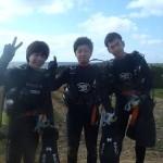 沖縄ダイビング★5/4 サンゴ体験ダイビング 15時半 しん・たく