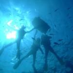 沖縄ダイビング☆5/2 青の洞窟スノーケル 13時 えりな