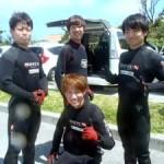 沖縄ダイビング☆5/8 青の洞窟スノーケル しおん