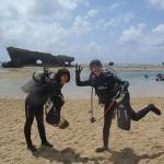 沖縄ダイビング★5/4 サンゴ体験ダイビング 13時 しん