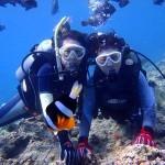 沖縄ダイビング☆6/28 青の洞窟体験ダイビング 13時 しおん・ゆうき