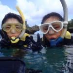 沖縄ダイビング☆9/29 青の洞窟体験ダイビング&スノーケル 8時 しおん