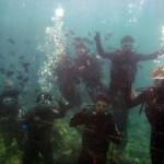 沖縄ダイビング☆10/27 サンゴのお花畑体験ダイビング 10:30 しおん・ゆうき・えりな