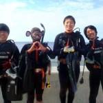 沖縄ダイビング☆ 12/30 珊瑚お花畑体験ダイビング 14時~ しおん