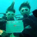 沖縄ダイビング☆1/9 珊瑚のお花畑 体験ダイビング 13時 えりな とも
