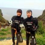 沖縄ダイビング☆3/30 青の洞窟体験ダイビング しおん