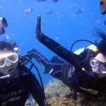 沖縄ダイビング☆3/31 青の洞窟体験ダイビング えりな