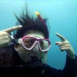 沖縄ダイビング☆4/6   ビーチFUN   しおん、ゆうき