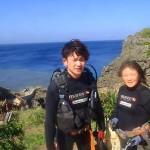 沖縄ダイビング☆4/7 体験ダイビング 14:00 しおん