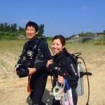 沖縄ダイビング☆4/29 ゴリラチョップ 珊瑚礁体験ダイビング 15:30 とよ