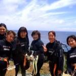 沖縄ダイビング☆5/29 青の洞窟体験ダイビング 10:30 えりな・ゆうき
