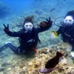 沖縄ダイビング☆5/30 青の洞窟体験ダイビング 10:30 えりな