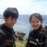 沖縄ダイビング☆6/28 青の洞窟体験ダイビング 10:30 ゆうり