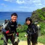 沖縄ダイビング☆7/19 青の洞窟体験ダイビング 13:00 なすび