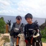 沖縄ダイビング☆7/6 青の洞窟体験ダイビング 10:30 えりな