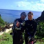 沖縄ダイビング☆7/2 体験ダイビング2本コース 8:00 しおん