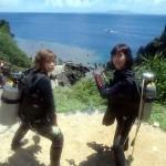 沖縄ダイビング☆7/3 青の洞窟体験ダイビング 10:30 たく