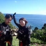 沖縄ダイビング☆7/4 体験ダイビング2本コース 8:00 ゆうり