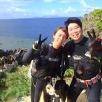 沖縄ダイビング☆7/4 青の洞窟体験ダイビング 15:30 しおん