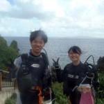 沖縄ダイビング☆7/6 青の洞窟体験ダイビング 8:00 ゆうり