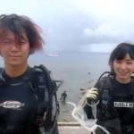 沖縄ダイビング☆7/7 珊瑚礁お花畑体験ダイビング 13:00 しおん