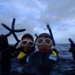 沖縄ダイビング☆7/7 珊瑚礁お花畑スノーケル 8:00 しおん