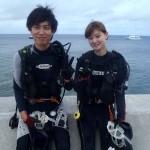 沖縄ダイビング☆7/7 珊瑚礁お花畑体験ダイビング 10:30 しおん