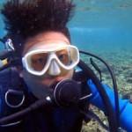 沖縄ダイビング☆7/9 青の洞窟体験ダイビング 13:00 えりな
