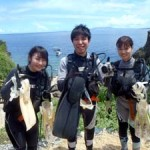 沖縄ダイビング☆7/26 青の洞窟体験ダイビング 10:30 しおん・ゆうき