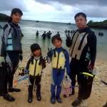 沖縄ダイビング☆7/30 サンゴ礁スノーケル 15:30 しおん