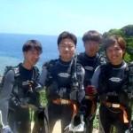 沖縄ダイビング☆7/29 青の洞窟体験ダイビング 10:30 しおん・ゆうき