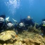 沖縄ダイビング☆7/29 青の洞窟体験ダイビング 13:00 しおん・ゆうき