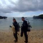 沖縄ダイビング☆7/30 青の洞窟体験ダイビング 15:30 なすび