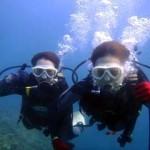 沖縄ダイビング☆7/31 青の洞窟体験ダイビング 15:30 しおん