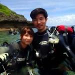 沖縄ダイビング☆7/21 青の洞窟体験ダイビング 10:30 ゆうき
