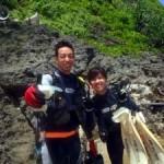 沖縄ダイビング☆7/21 青の洞窟体験ダイビング 10:30 えりな