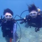 沖縄ダイビング☆8/31 珊瑚礁体験ダイビング 11:00 しおん