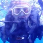 沖縄ダイビング☆9/28 青の洞窟体験ダイビング 15時 えりな・しおん