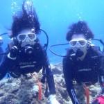 沖縄ダイビング☆9/28 青の洞窟体験ダイビング 10時 えりな
