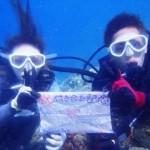 沖縄ダイビング☆9/29 青の洞窟体験ダイビング 13:00 ゆうり