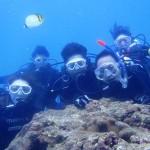 沖縄ダイビング☆9/30 FUN+体験ダイビング ゆうき・えりな