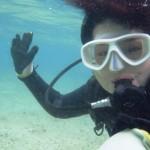 沖縄ダイビング☆11/24 珊瑚礁体験ダイビング 12:00 えりな・なすび