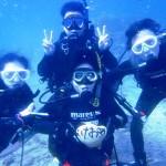 沖縄ダイビング☆12/31 OWラスト+FUN なすび