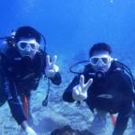 沖縄ダイビング☆1/28 11:00 珊瑚体験ダイビング ゆうき